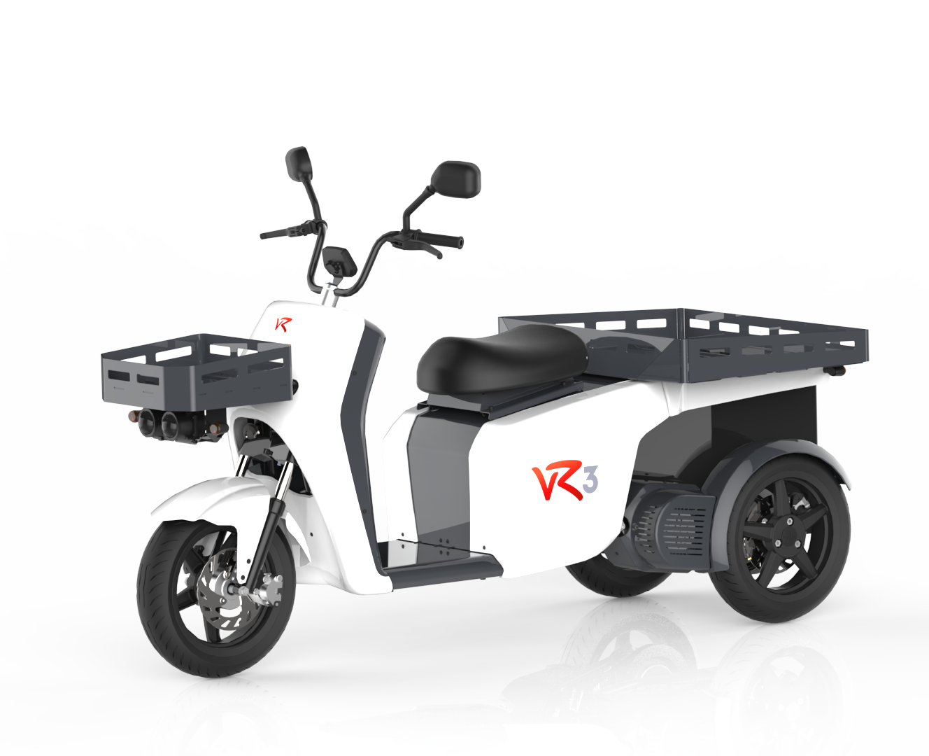 vR3 electric tricycle, the modular electric vehicle