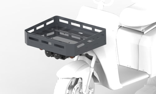 400 x 600 mm front module for the vR3 electric tricycle