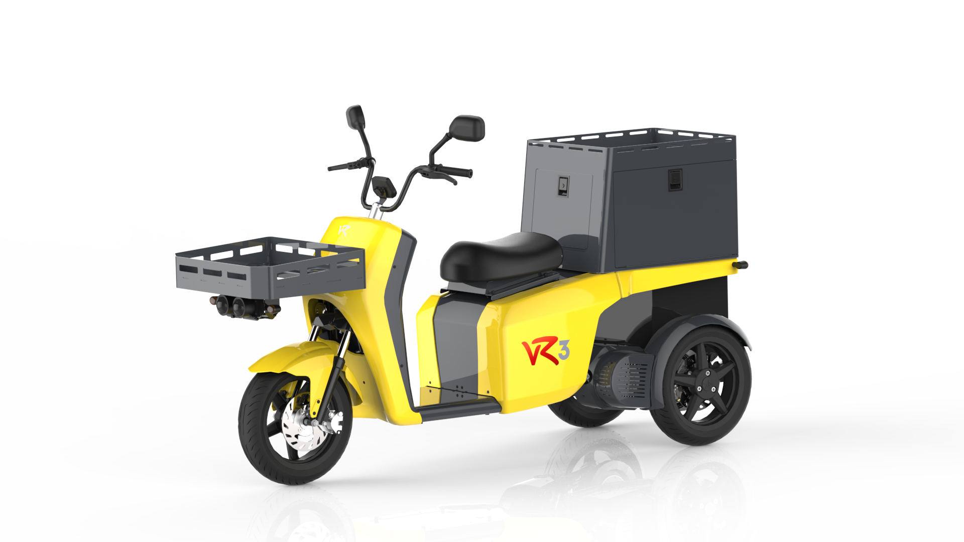 The vR3 electric tricycle as a postal vehicle