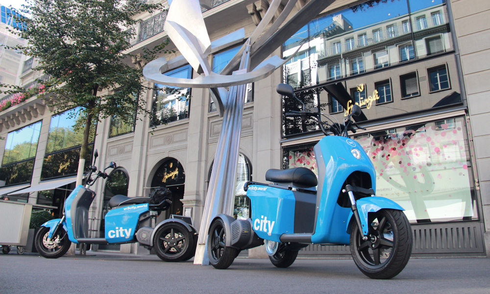 vR3 City, the lifestyle electric vehicle